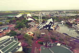 Futuroscope Tilt Shift